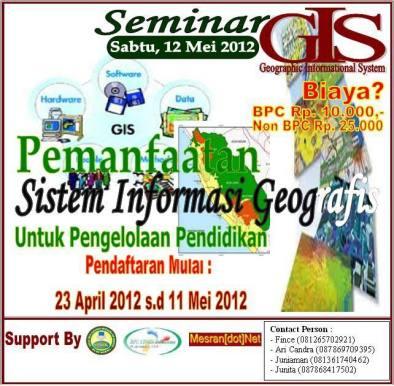 http://mesran.net/berita-470-seminar-pemanfaatan-gis-untuk-pengelolaan-pendidikan.html
