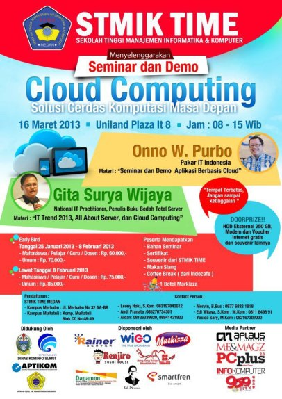 Seminar dan Demo Cloud Computing