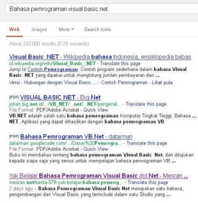 Bahasa pemrograman visual basic net