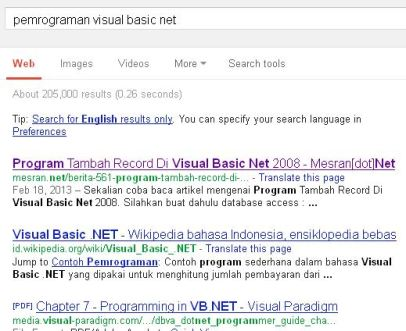 Pemrograman Visual Basic Net