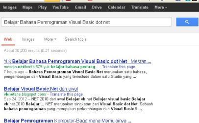 Belajar Bahasa Pemrograman Visual Basic dot net